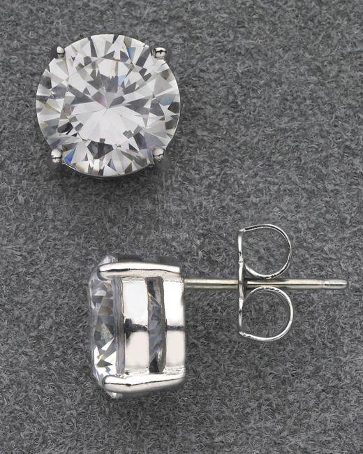 Nadri - Metallic Large Stud Earrings - Lyst
