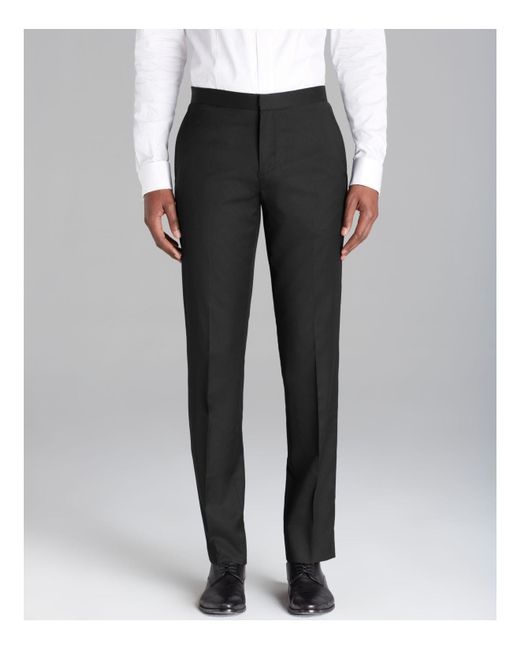Theory - Black Marlo P Tux Trousers - Regular Fit for Men - Lyst