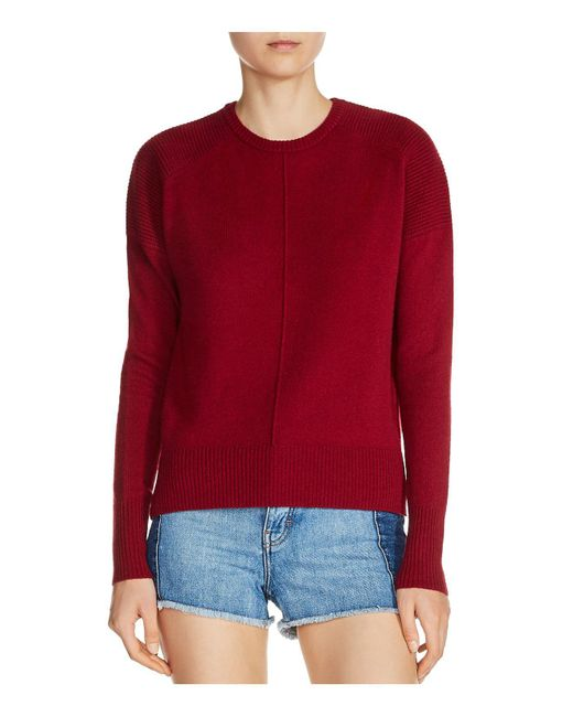 Maje - Red Matisse Cashmere Sweater - Lyst