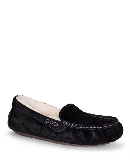Ugg - Black Slippers - Ansley - Lyst