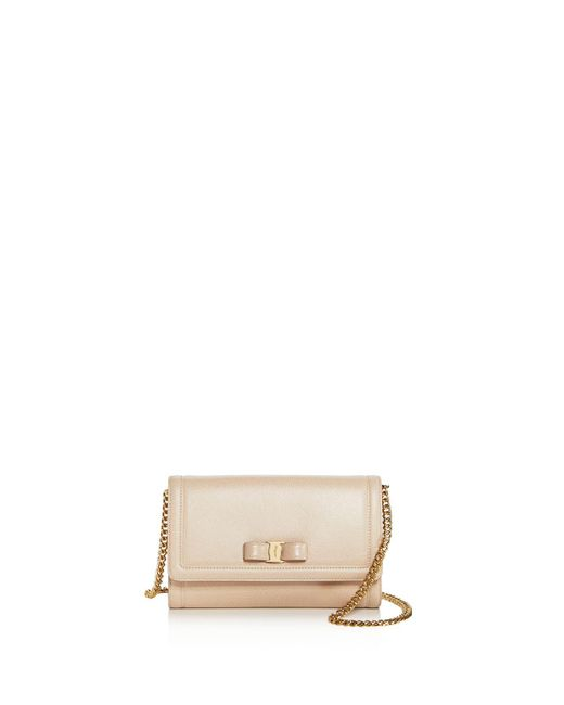 Ferragamo - Multicolor Miss Vara Leather Mini Bag - Lyst
