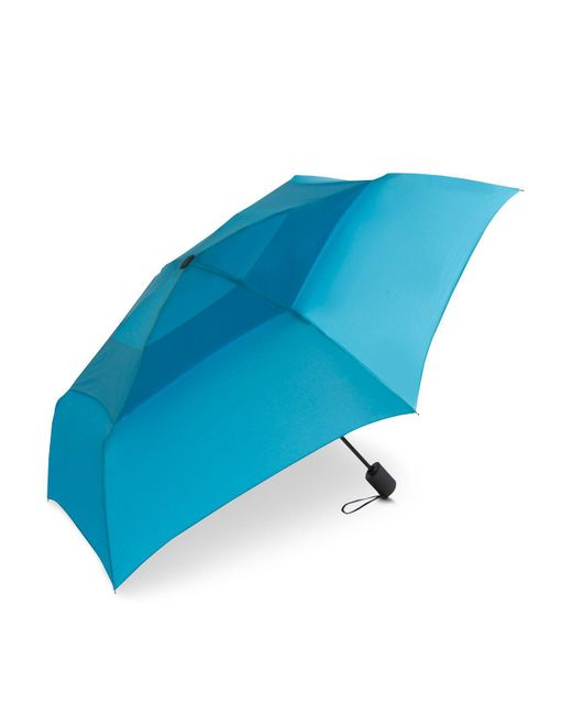 Shedrain - Blue Windpro® Vented Automatic Compact Umbrella - Lyst