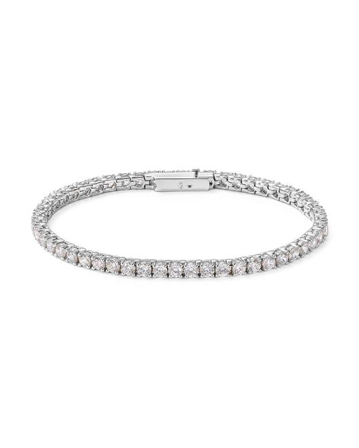 Nadri | Metallic Tennis Bracelet | Lyst
