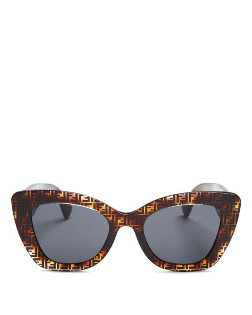 Fendi - Brown 52mm - Lyst
