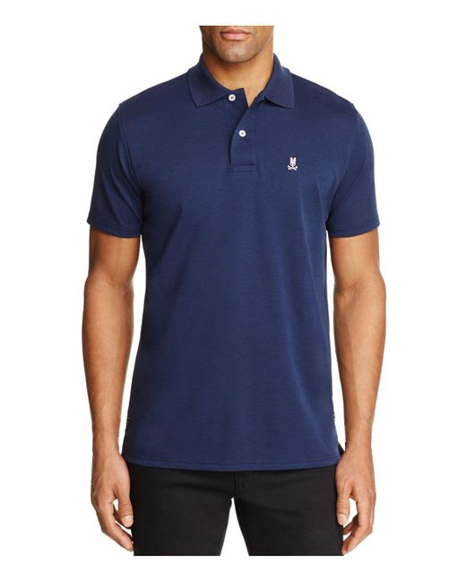 Psycho Bunny | Blue Regular Fit Golf Polo Shirt for Men | Lyst