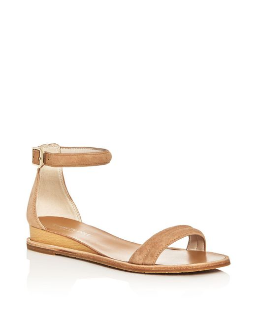 Kenneth Cole | Multicolor Jenna Ankle Strap Demi Wedge Sandals | Lyst