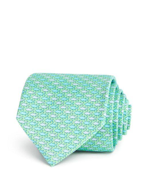 Vineyard Vines - Green Tonal Tuna Classic Tie for Men - Lyst