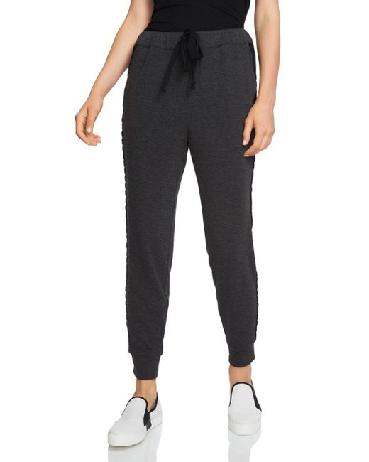 1.STATE - Gray Side-stripe Jogger Pants - Lyst