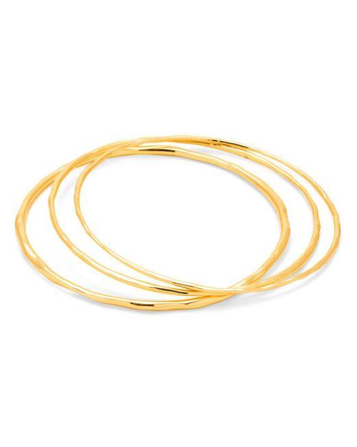 Gorjana - Metallic Quinn Delicate Bangle Bracelets - Lyst