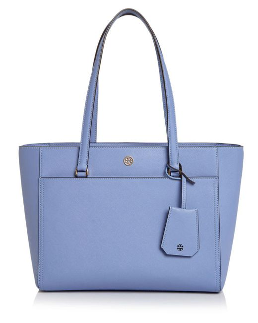 Tory Burch - Blue Robinson Small Tote - Lyst