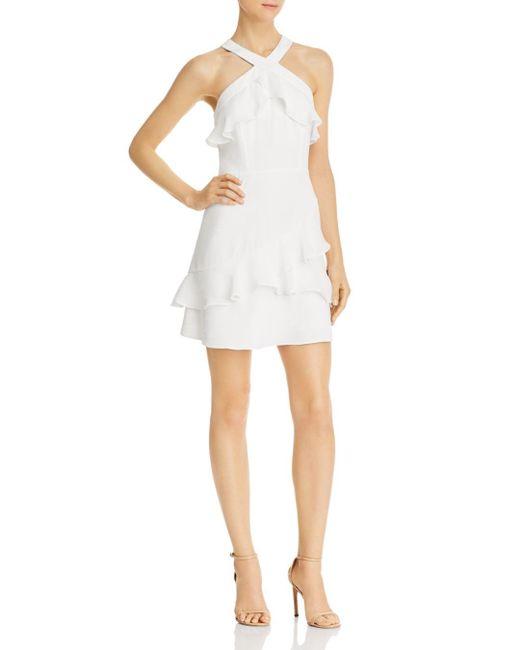 Parker - White Rikki Dress - Lyst