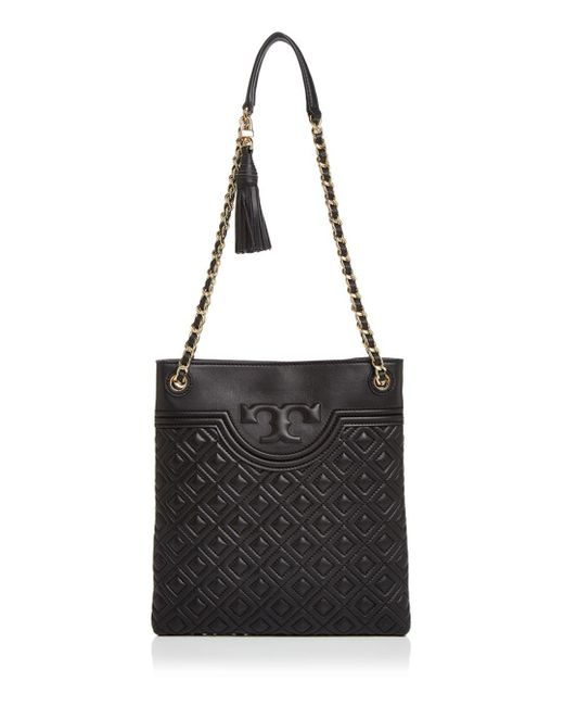 Tory Burch - Black Fleming Swingpack Leather Crossbody - Lyst