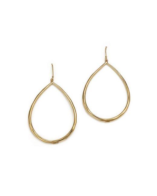 Ippolita - Metallic 18k Yellow Gold Glamazon Faceted Large Teardrop Earrings - Lyst