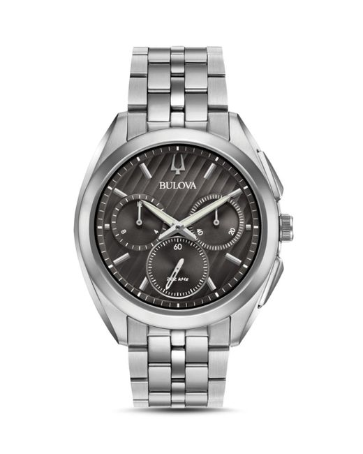 Bulova - Metallic 45mm for Men - Lyst