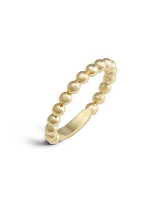 Lagos | Metallic 18k Gold Stacking Ring | Lyst