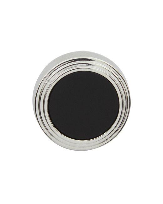Lanvin | Black Onyx Button Cover Shirt Studs | Lyst