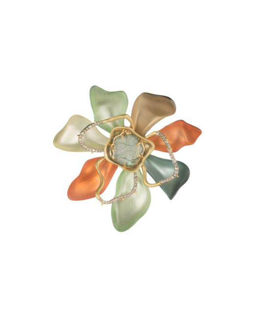 Alexis Bittar - Multicolor Block Flower Pin - Lyst