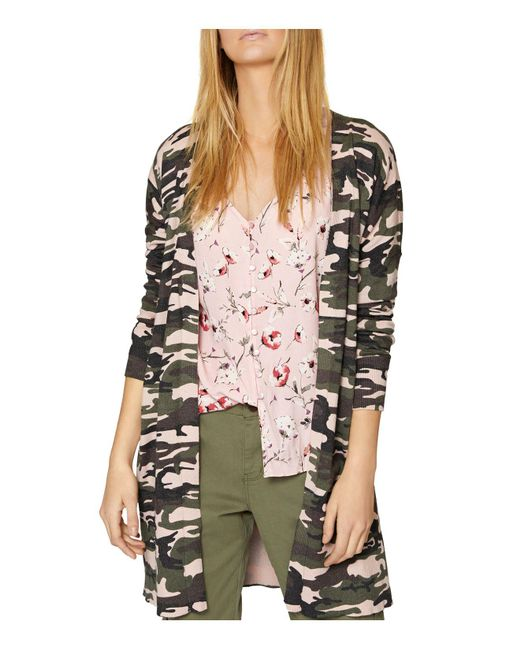 Sanctuary - Multicolor Lenox Camo Cardigan - Lyst