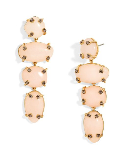 BaubleBar | Pink Devina Drop Earrings | Lyst