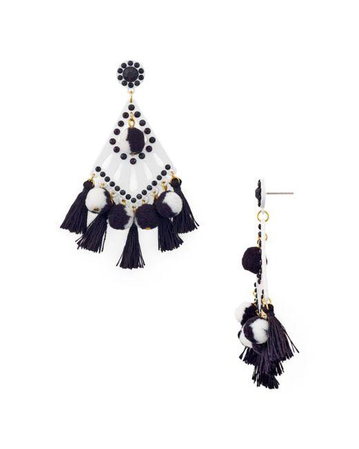 Rebecca Minkoff - Multicolor Cha-cha Tassel Drop Earrings - Lyst