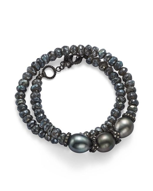 Armenta - Tahitian South Sea Black Pearl - Lyst