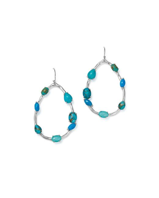 Ippolita | Blue 925 Rock Candy Large Turquoise Teardrop Earrings | Lyst