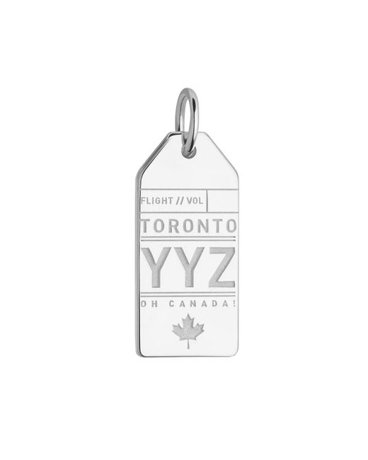Jet Set Candy   Metallic Canada Yyz Luggage Tag Charm for Men   Lyst