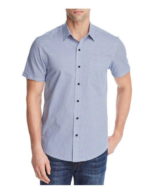 W.r.k. - Blue Gingham Reworked Regular Fit Button-down Shirt for Men - Lyst