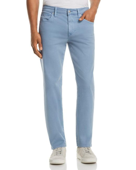 Joe's Jeans - Blue Brixton Straight Fit Twill Pants for Men - Lyst