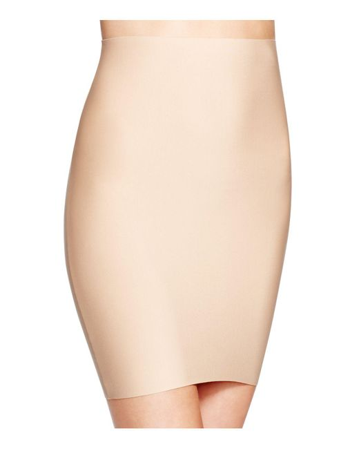 Commando   Natural Two-faced Tech Shaping Half Slip   Lyst