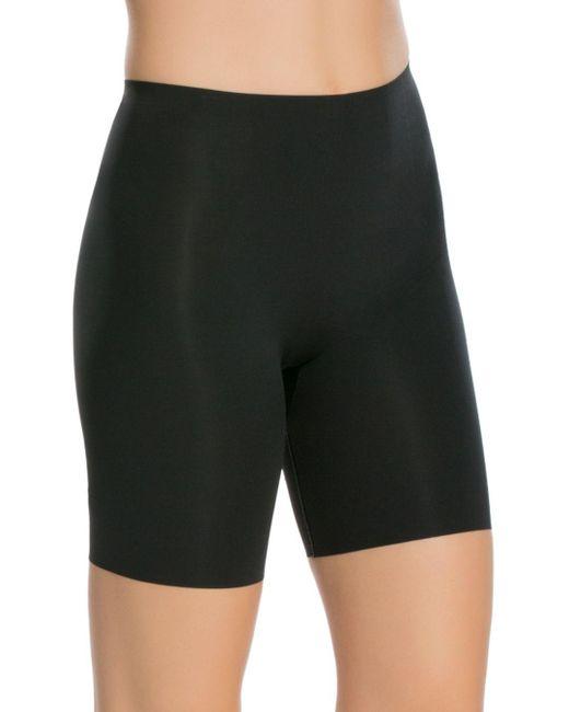 Spanx - Black Thinstincts Mid-thigh Shorts - Lyst