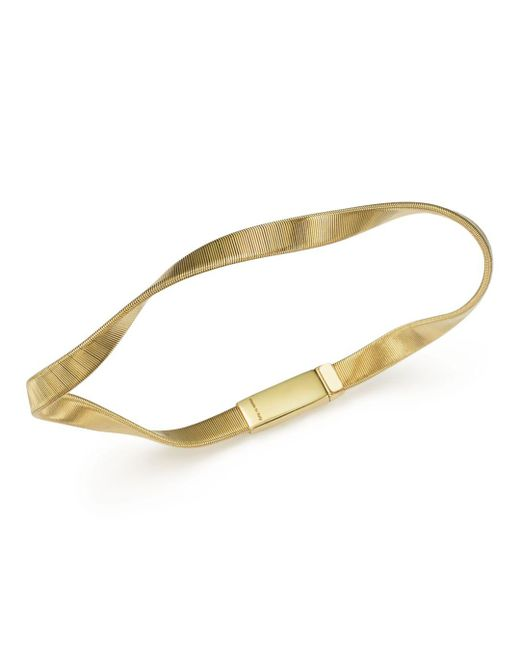 Marco Bicego - Metallic 18k Yellow Gold Marrakech Supreme Single Strand Bracelet - Lyst