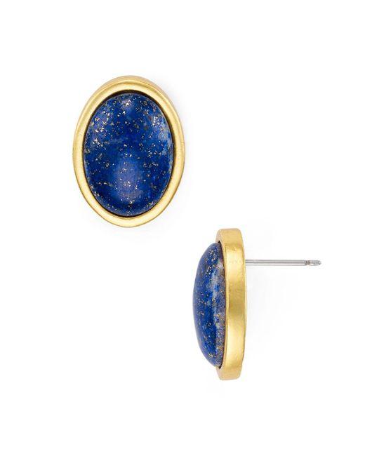 Stephanie Kantis   Blue Nugget Stud Earrings   Lyst