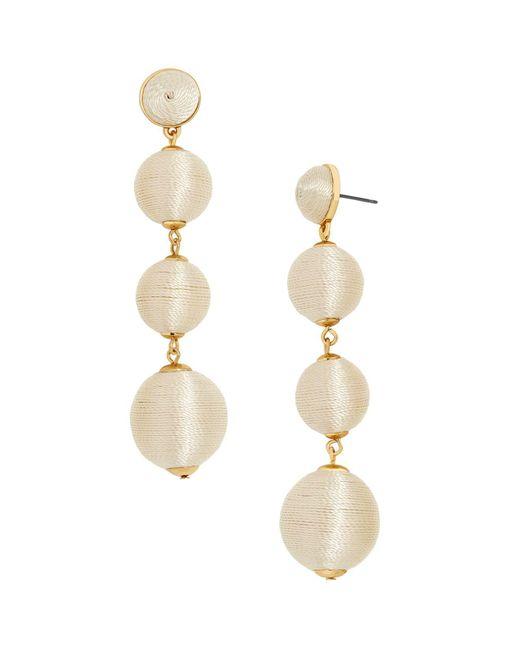 BaubleBar - Metallic Criselda Ball Drop Earrings - Lyst