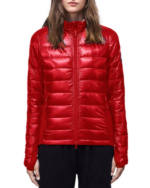 6a0e2c636503 ... new zealand canada goose red hybridge lite jacket lyst 146f2 d06e6