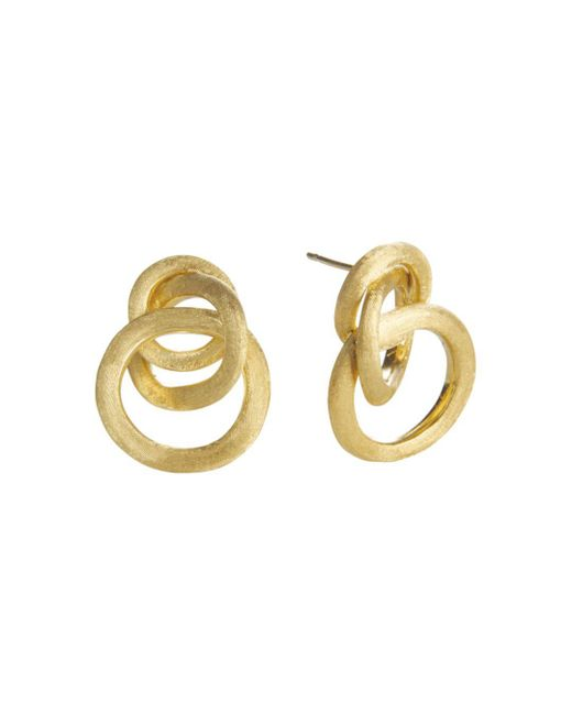 Marco Bicego - Metallic Jaipur 18k Yellow Gold Loop Earrings - Lyst
