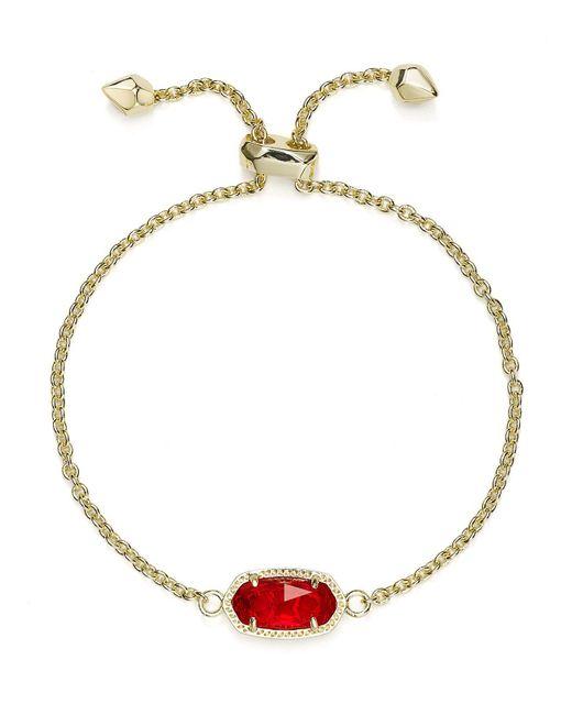 Kendra Scott   Multicolor Elaina Birthstone Bracelet   Lyst