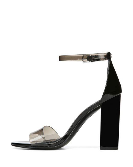 b6b122ad6d14cf ... Lyst Sam Edelman - Black Women s Yaro Sheer Ankle Strap High-heel  Sandals ...