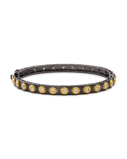 Freida Rothman - Multicolor Stud Bangle Bracelet - Lyst