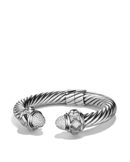 David Yurman - Metallic Renaissance Bracelet With Diamonds - Lyst