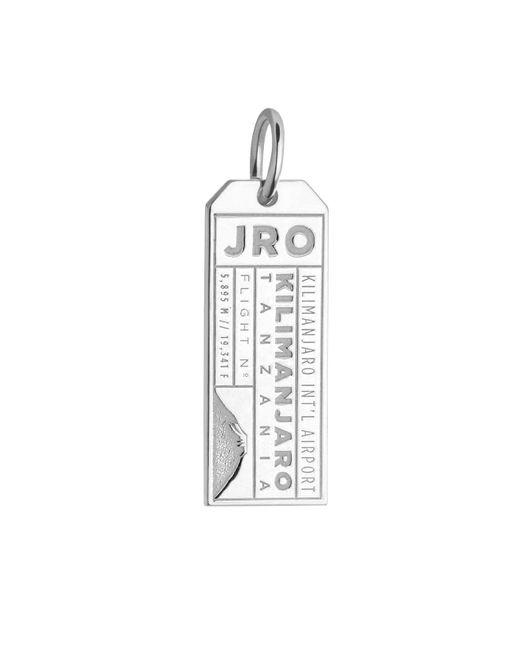 Jet Set Candy - Metallic Tanzania Jro Luggage Tag Charm - Lyst