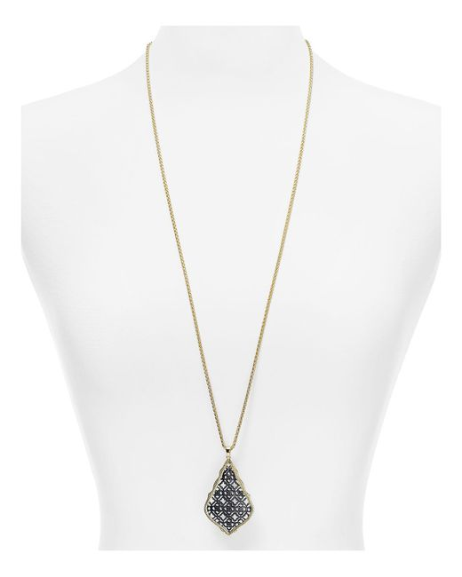 "Kendra Scott - Metallic 32"" - Lyst"