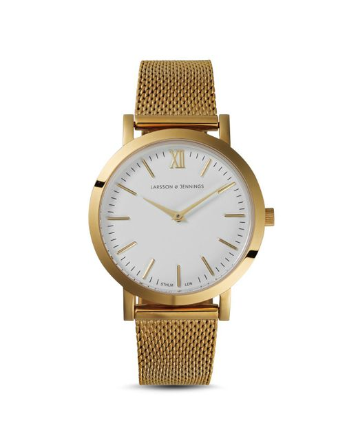 Larsson & Jennings | Metallic Liten Stainless Steel Watch | Lyst