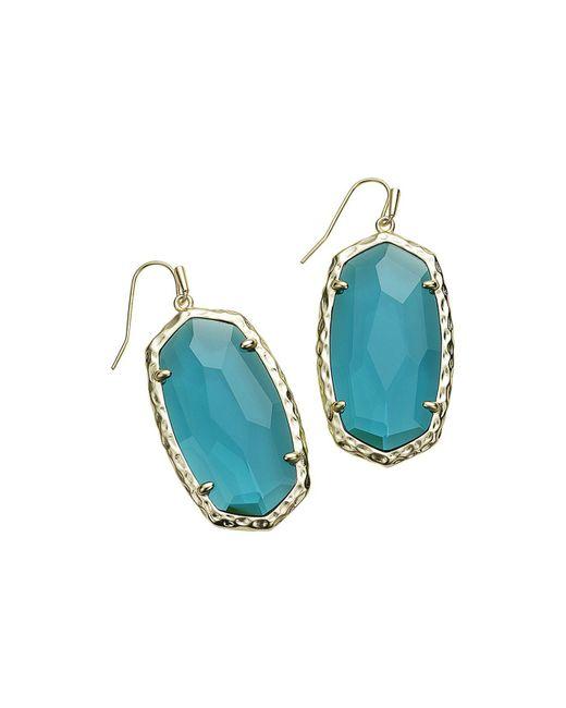 Kendra Scott - Blue Ella Drop Earrings (special Value $37.50) - Lyst