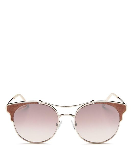 Jimmy Choo - Metallic 55mm - Lyst