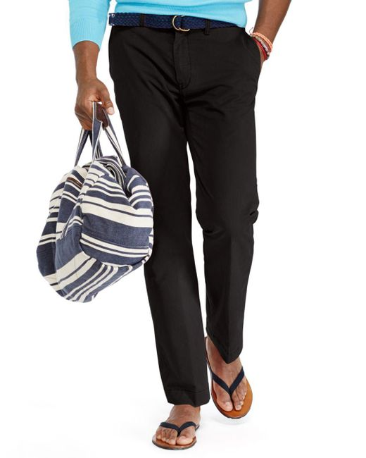Polo Ralph Lauren - Black Classic Fit Lightweight Chino Pants for Men - Lyst