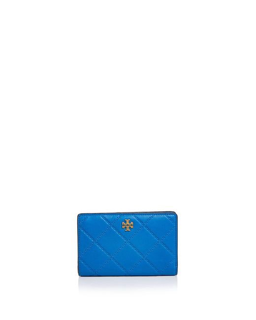 Tory Burch | Multicolor Monroe Slim Medium Leather Wallet | Lyst