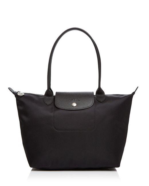 Longchamp - Metallic Le Pliage Neo Medium Nylon Tote - Lyst
