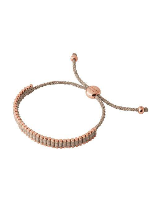 Links of London | Brown Mini Friendship Bracelet | Lyst