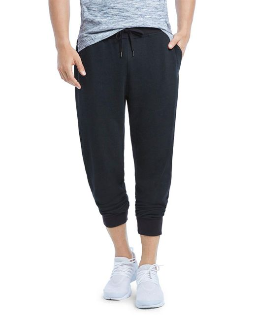 2xist - Black Banded Ankle Terry Sweatpants for Men - Lyst